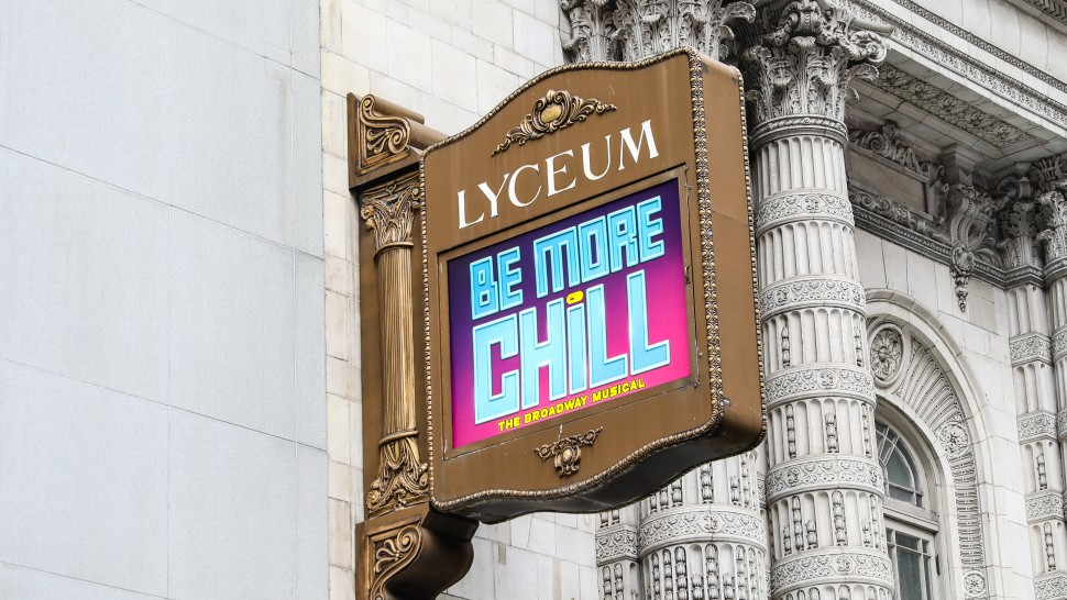 Be More Chill  at the Lyceum Theatre (Marc J. Franklin)