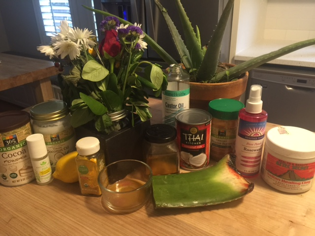 Love Your Skin with what's in your kitchen right now!