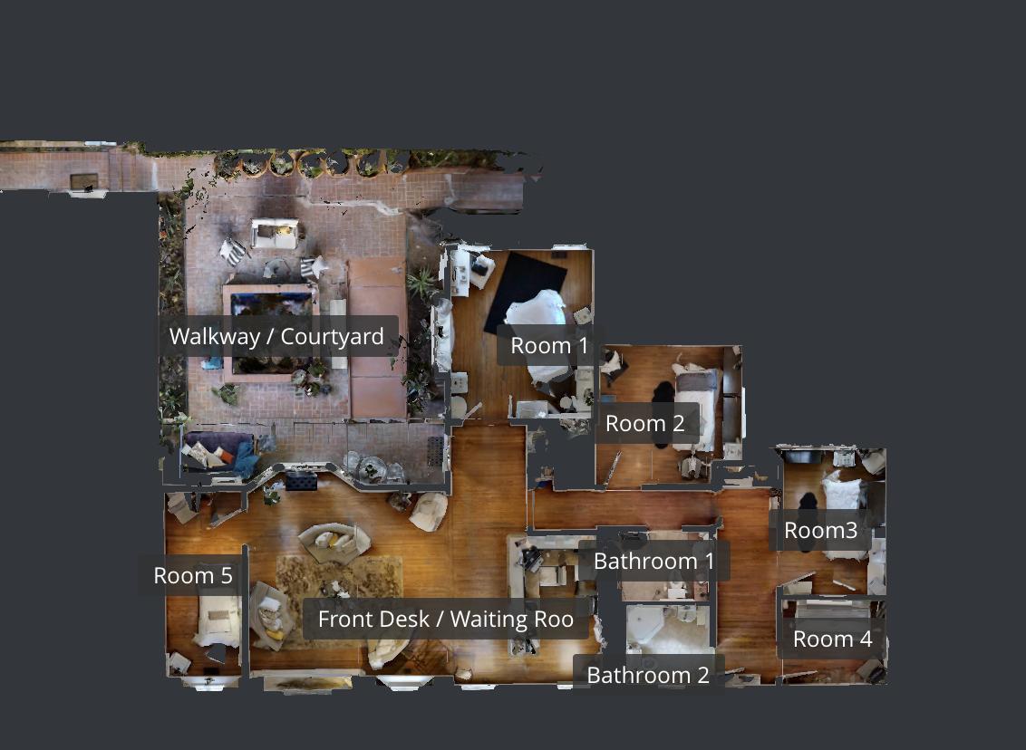 View Matterport 3D Examples