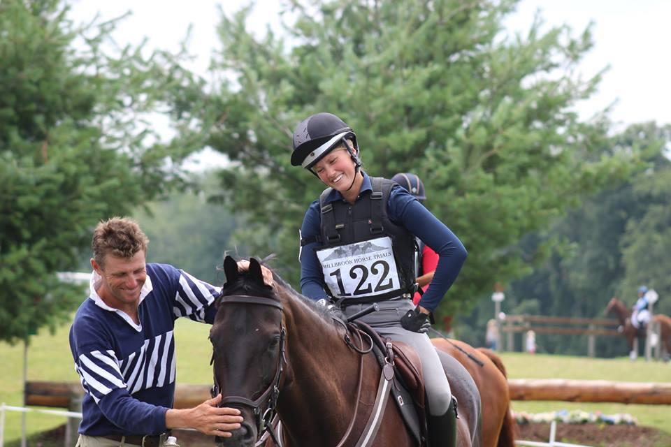 Seija Samoylenko Boyd Martin Millbrook Horse Trials