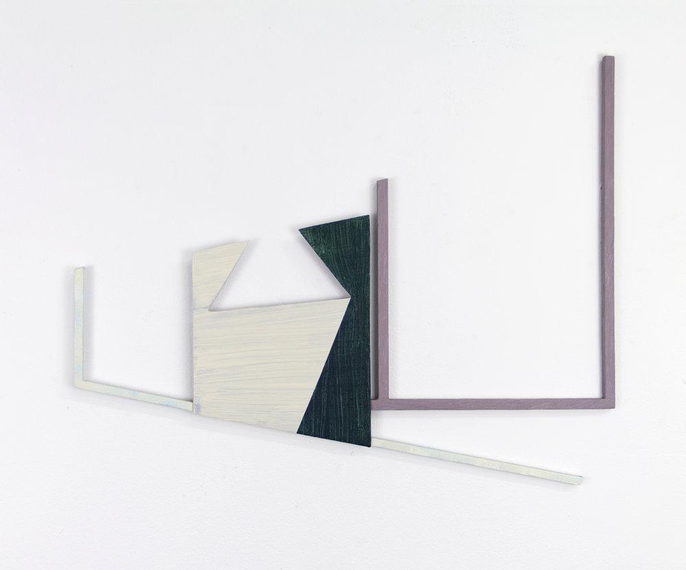 "JONATHAN RUNCIO   Untitled (JR01-17) , oil on steel, 13.5"" x 16.5"", 2017"