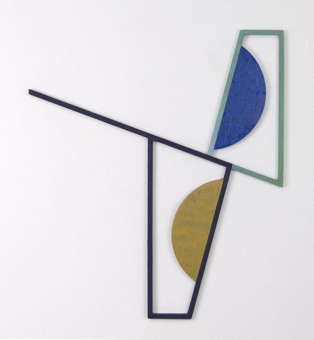 "JONATHAN RUNCIO   Untitled (JR04-17) , oil on steel, 15.5"" x 13.5"", 2017"