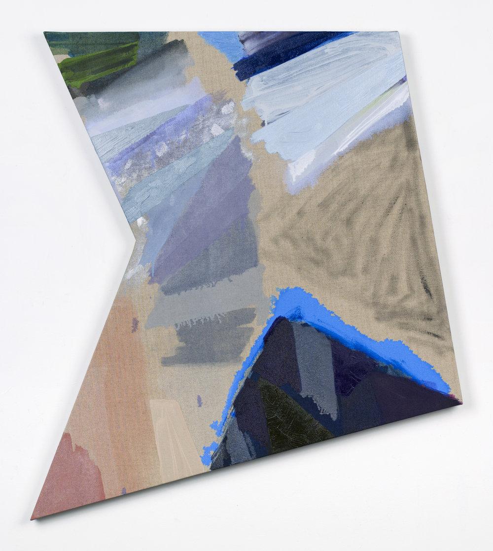 """PAMELA JORDEN   Dove , oil on linen 37 3/8"""" x 33 3/8"""", 2014"""