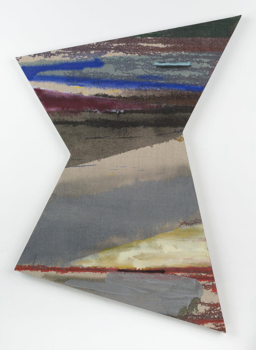 """PAMELA JORDEN   Zephyr , oil on linen 40 1/2"""" x 28 1/2"""", 2014"""