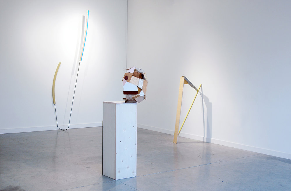 KIRK STOLLER   THROWN A CURVE  Installation