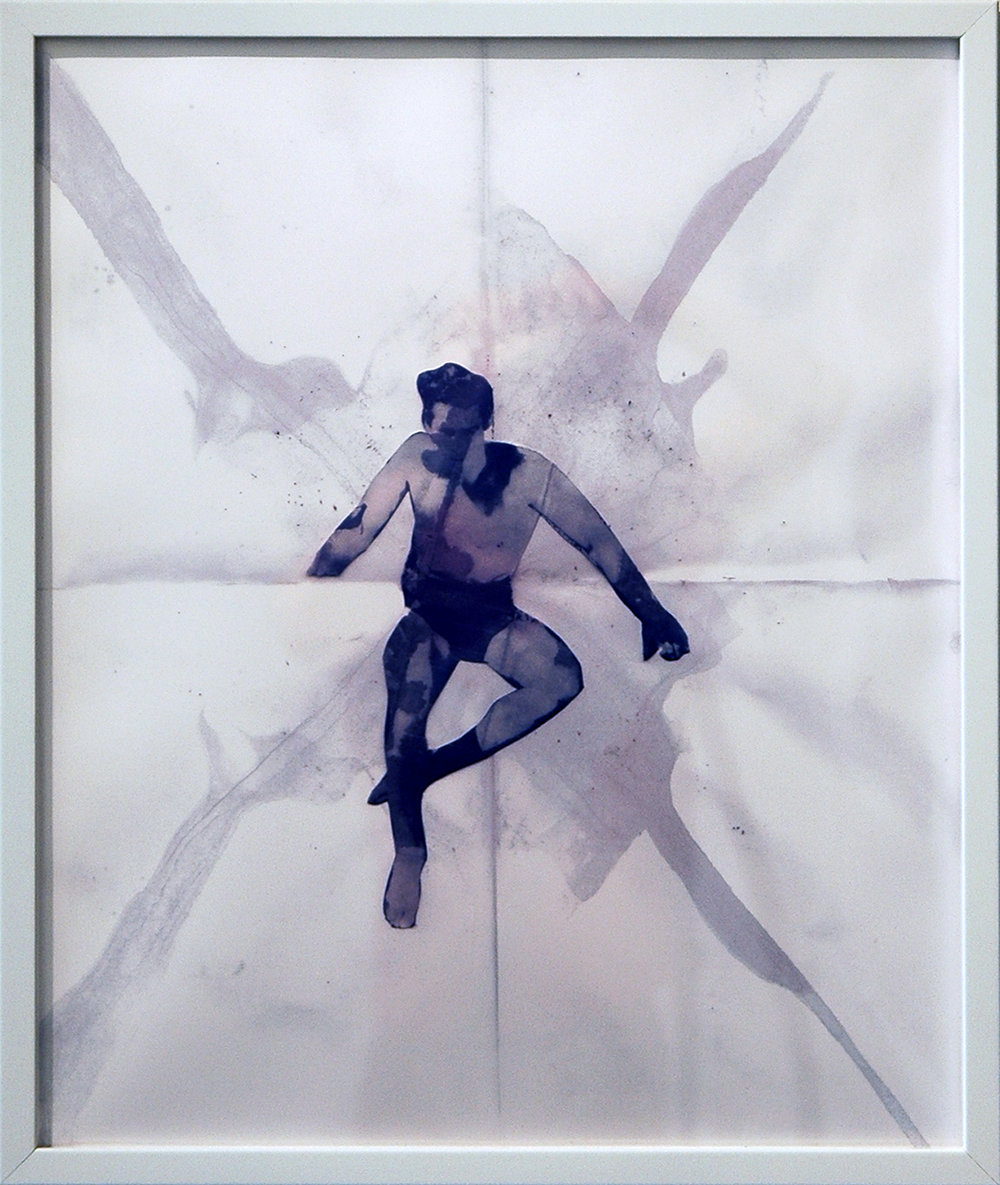 "DERIC CARNER   Gordon II , digital c-print, with artist frame, 24"" x 20"", 2012"
