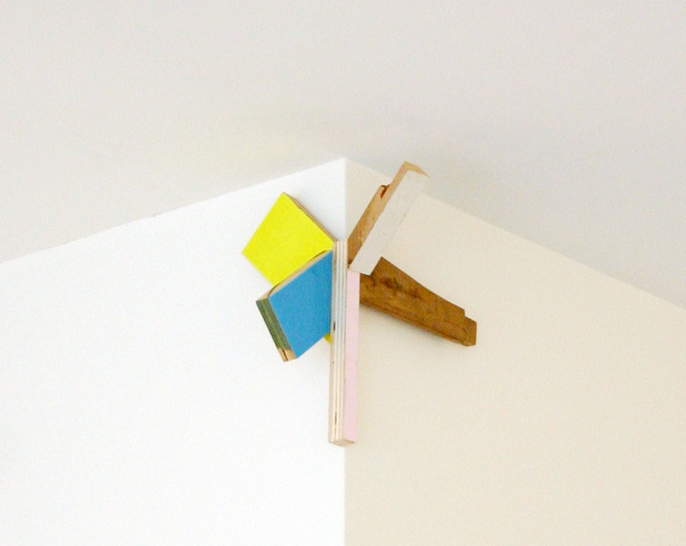 "KIRK STOLLER   Untitled (reach),  wood, resin and paint, 9.5"" x 6"" x 10"", 2011"