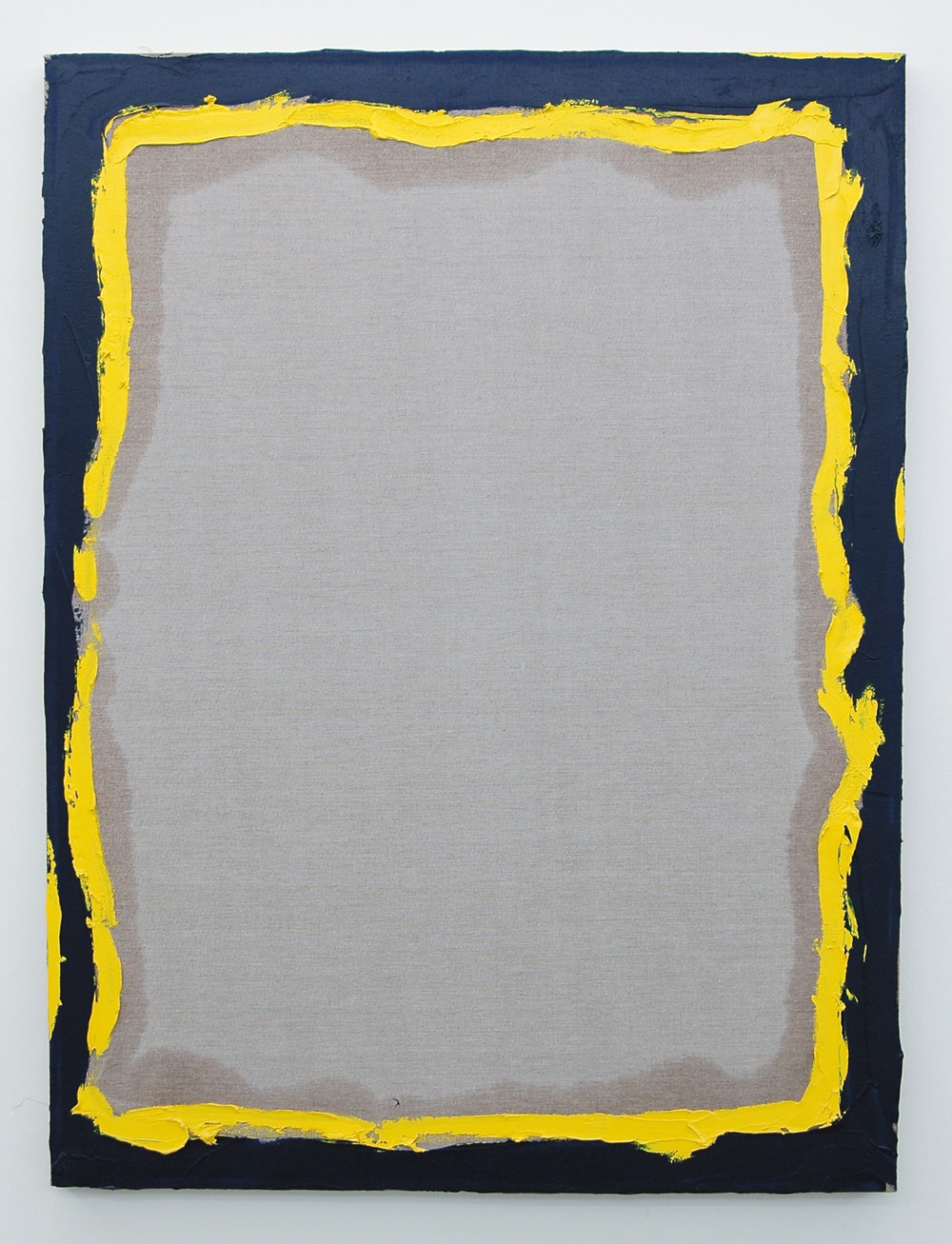 "/SLASH/  Peter Kirkeby,  Untitled,  oil and rabbit skin glue on linen, 40"" x 30"", 2013"