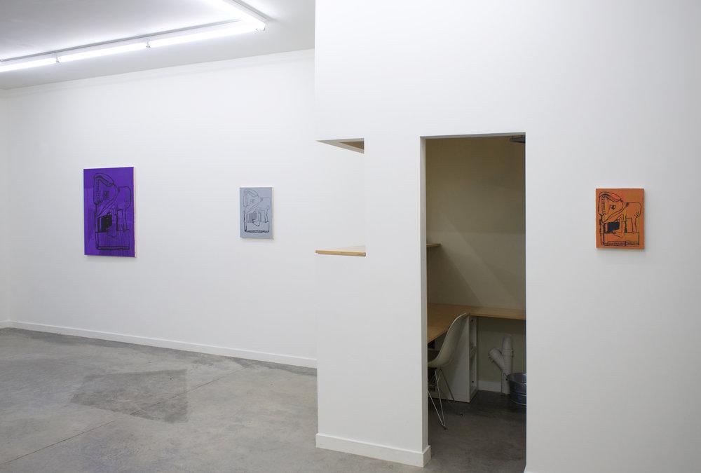 EJ HAUSER   peaks + beasts , installation