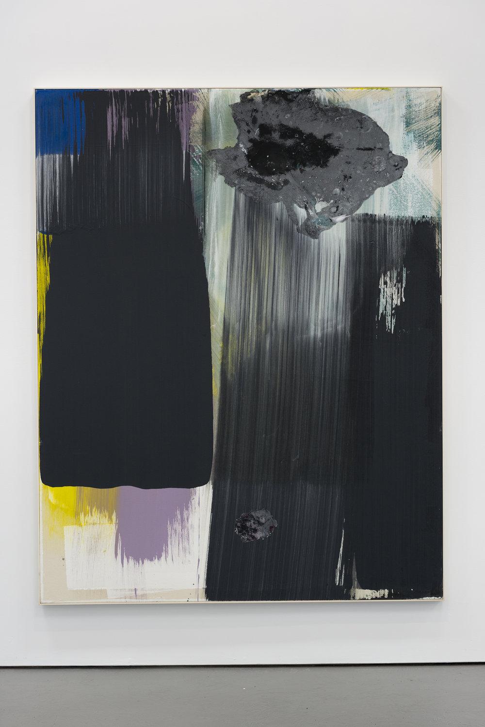 """JEAN-FRANÇOIS LAUDA  Untitled 34, 2016, acrylique sur toile, 76"""" x 60"""""""