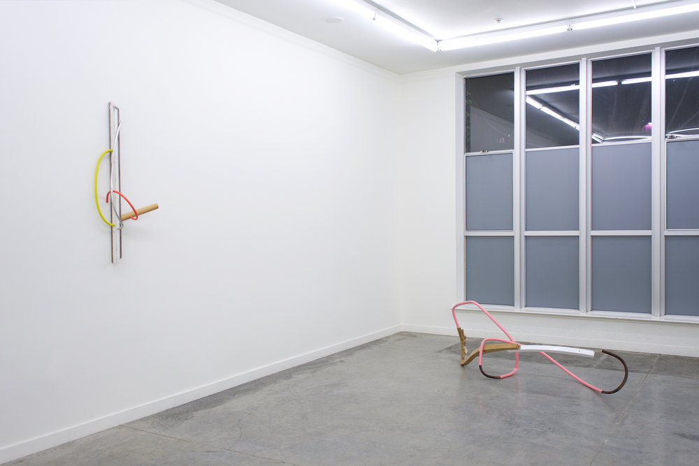 Kirk Stoller,  the Color ran from his face , installation view