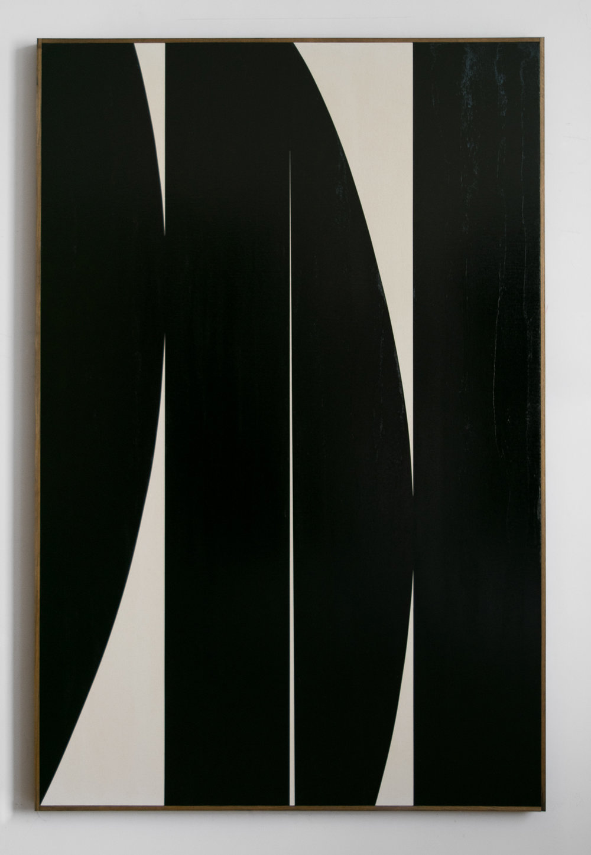 "JOHNNY ABRAHAMS Untitled (JA.02.18), 2018 Oil on canvas, 72"" x 48"""