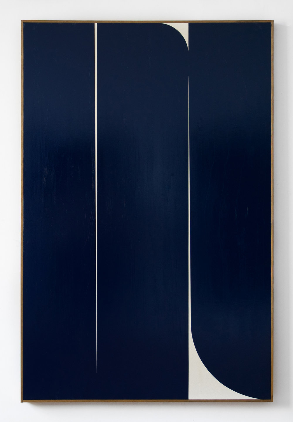 "JOHNNY ABRAHAMS Untitled (JA.04.18), 2018 Oil on canvas, 72"" x 48"""
