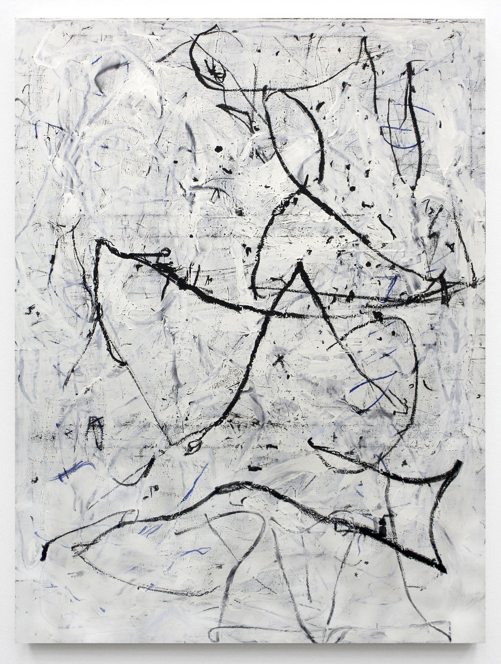 "JOSEPH HART Untitled (Dancer), 2018 Oil on canvas, 72"" x 52"""