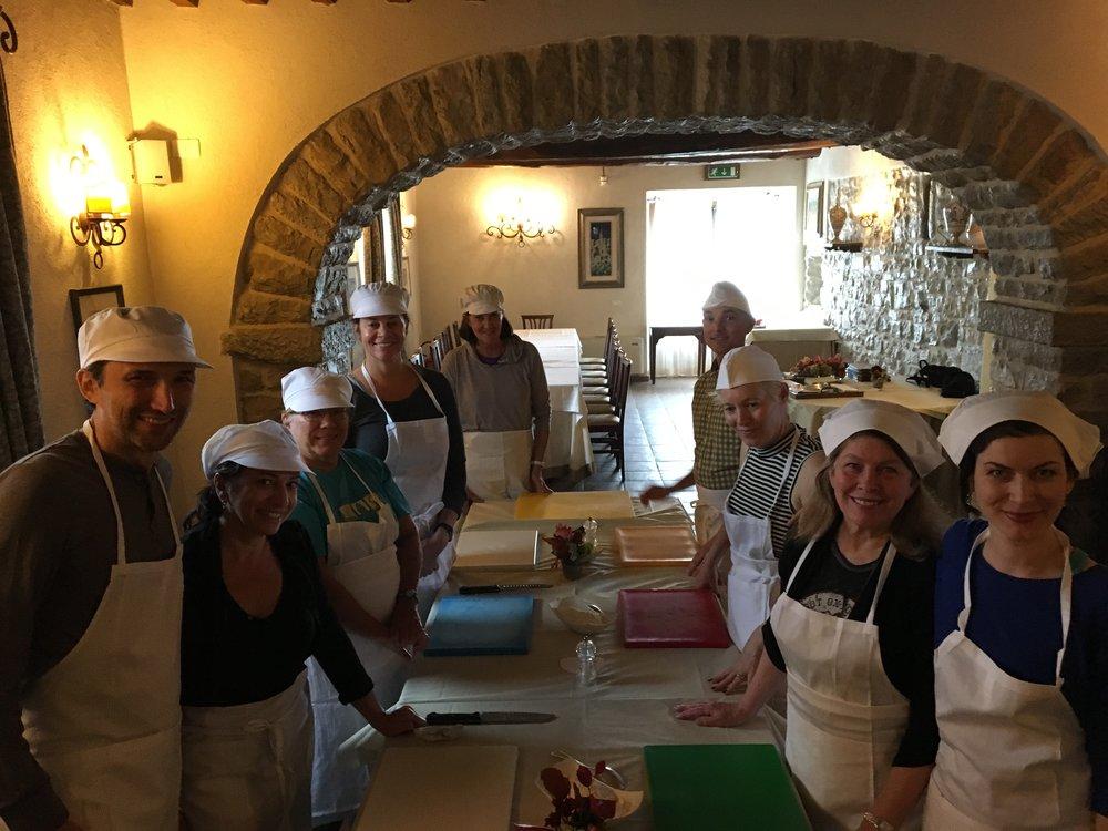 Fun Cooking Class in Umbria
