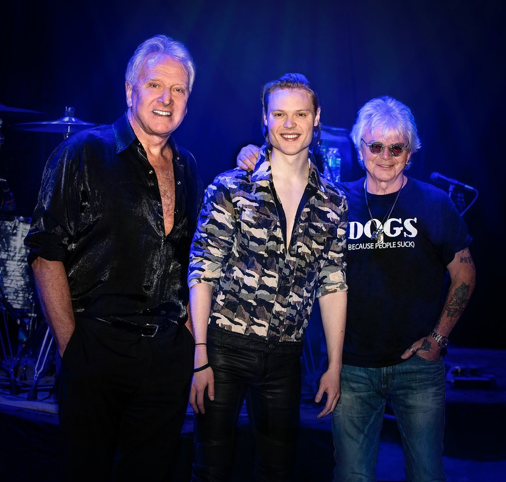 with Air Supply