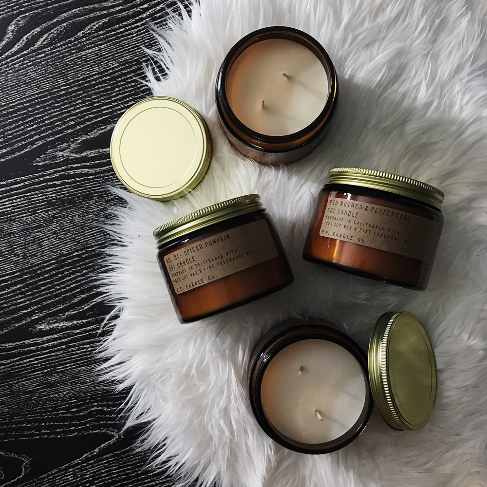 Urban Outfitters   PF Candle Co. Two Wick Soy Candles; $11.99