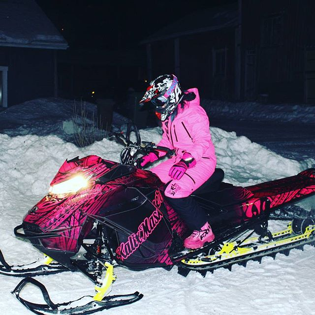 Anja Mattson Location: Sweden   I'm from middle of Sweden and moved to northern Sweden in October 2011, when I was 19 years old. I'm a teacher and all of my free time i spend in the mountains, with my dog and hanging out with friends. I got my first snowmobile 2012. And have been tearing it up ever sense. The perfect day of riding would be clear sky's with a lot of fresh snow out in the mountains and in the backcountry.