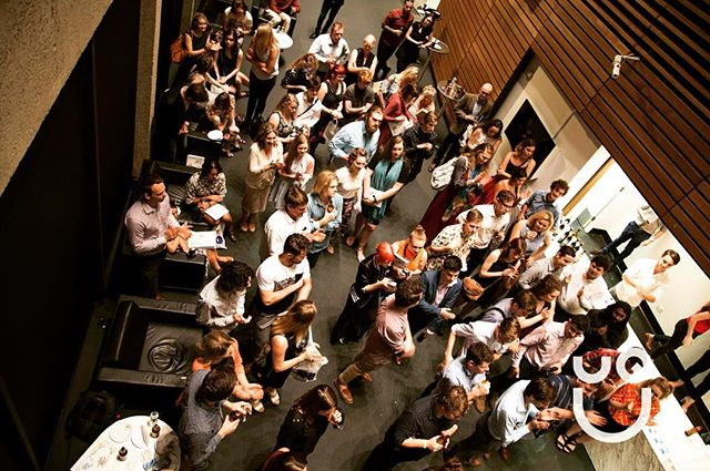 Great shot of our 2016 Jacaranda Launch last Friday! Thanks again to all who came and contributed 📖💜#uqhuss #uq