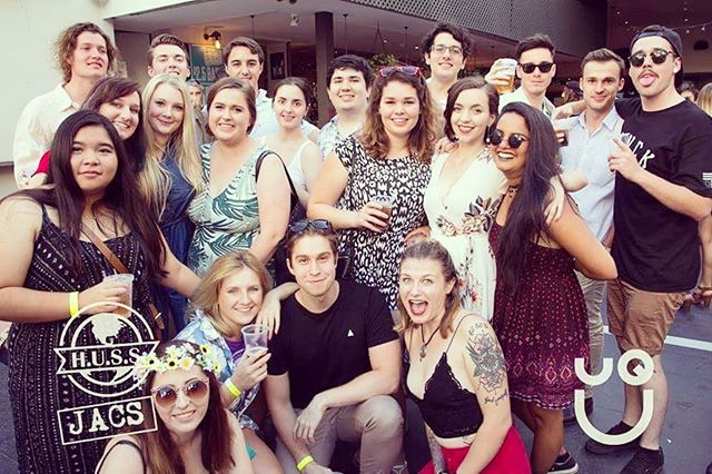 tbt our JACS-HUSS 2016 Summer Social! 🌸☀️🌺#uq  #endofsemester #coolforthesummer