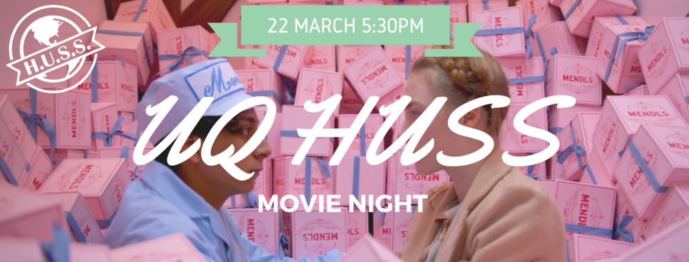 HUSS is hosting a movie night! click the banner for more details