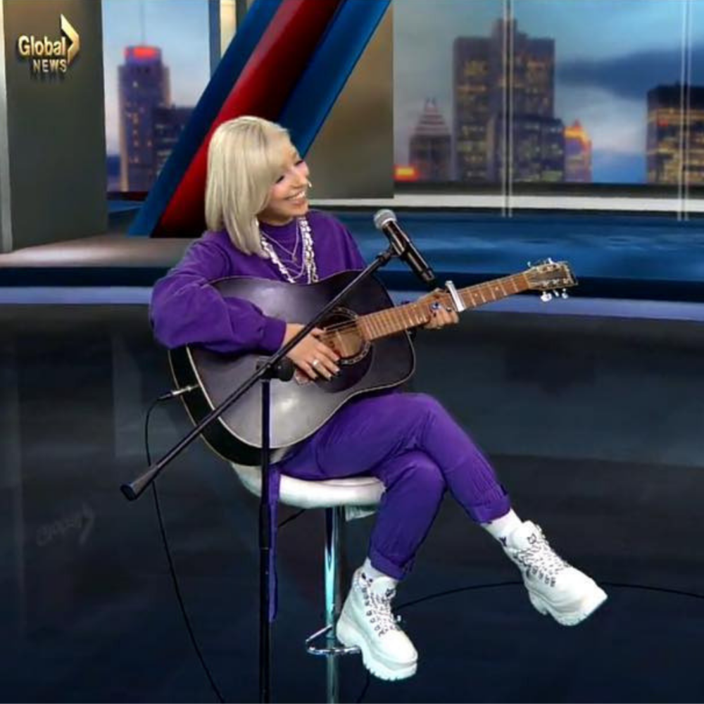GLOBAL NEWS:  Interview + 'One Time' Performance