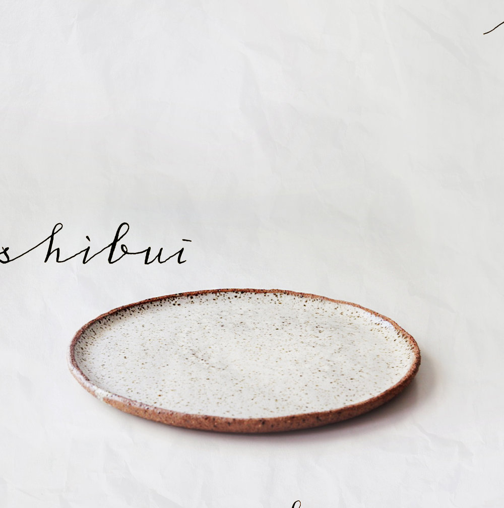 Shibui Platter |  Speckled