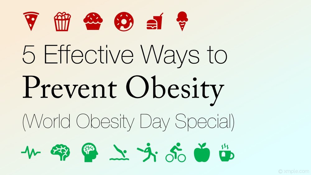 5 effective ways to prevent weight problems world obesity day