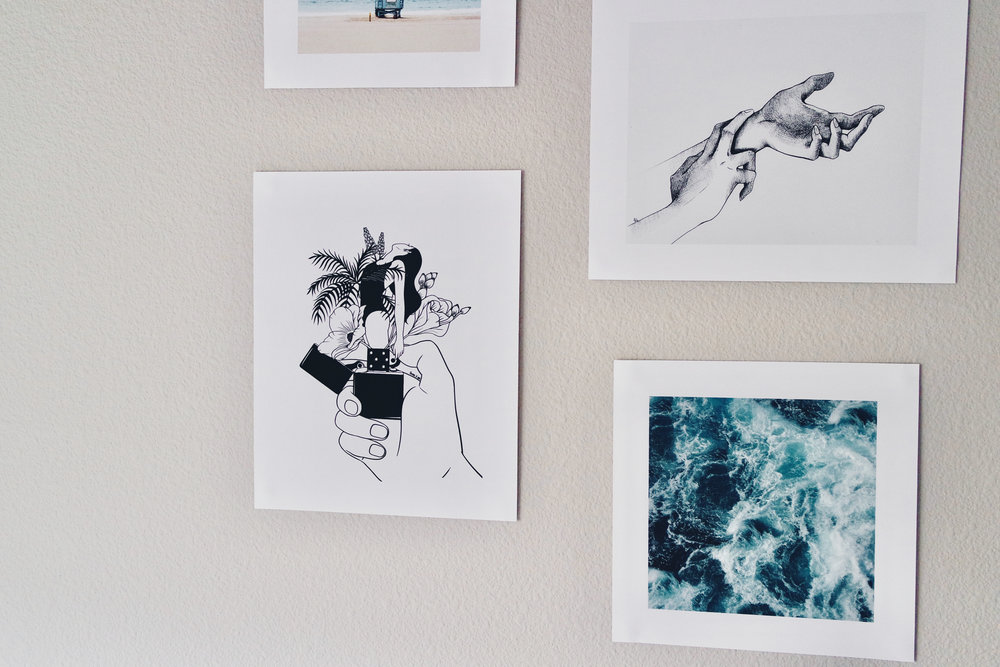 Prints from Society6