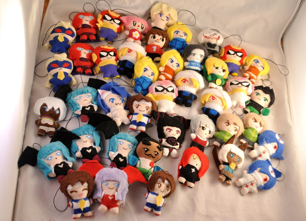 Mini-Plush Keychains
