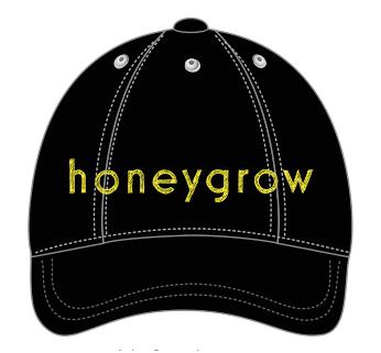 Black hg Hat