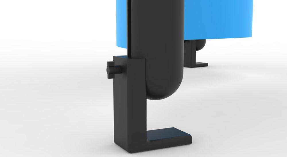 Party Supplies, Rapid Design Exercise:  Adjustable  Beer Pong Bumpers.(SolidWorks; Keyshot)