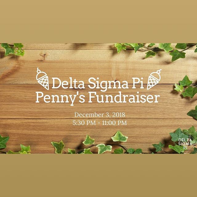 Get your ice cream fix now! Stop by Penny Ice Creamry and mention Delta Sigma Pi!