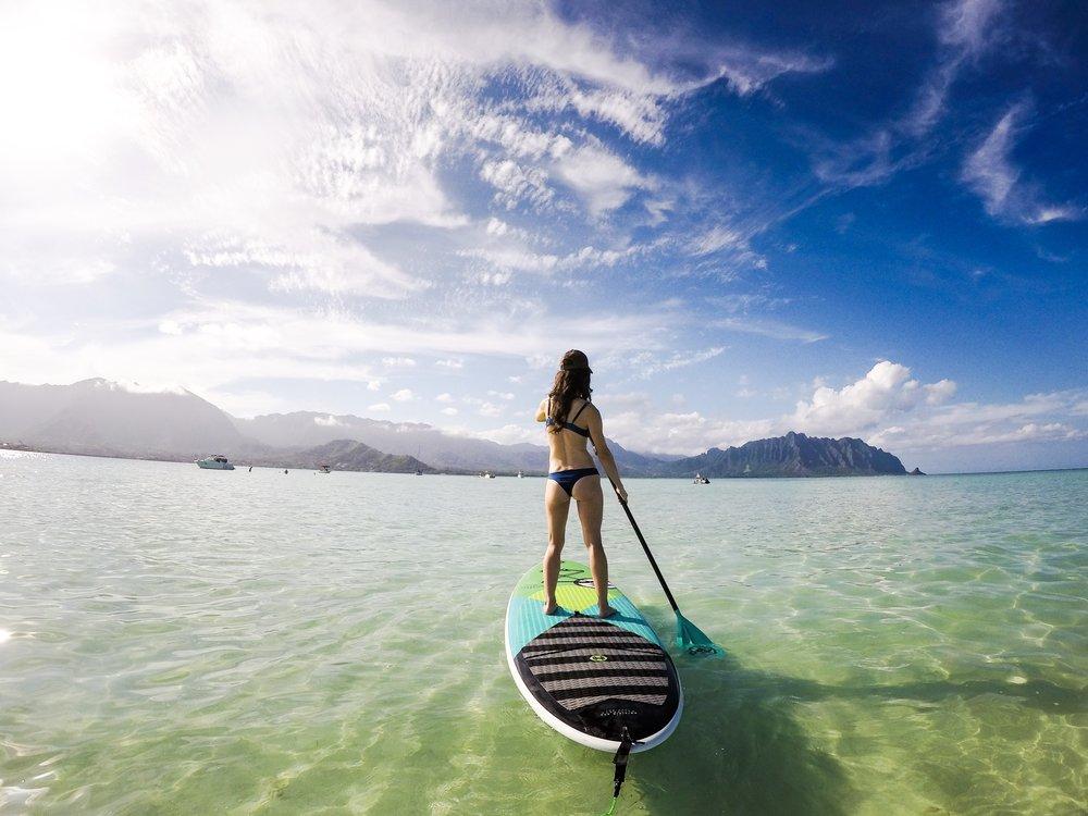 Kayaking To Kaneohe Bay Sandbar A Million People Places