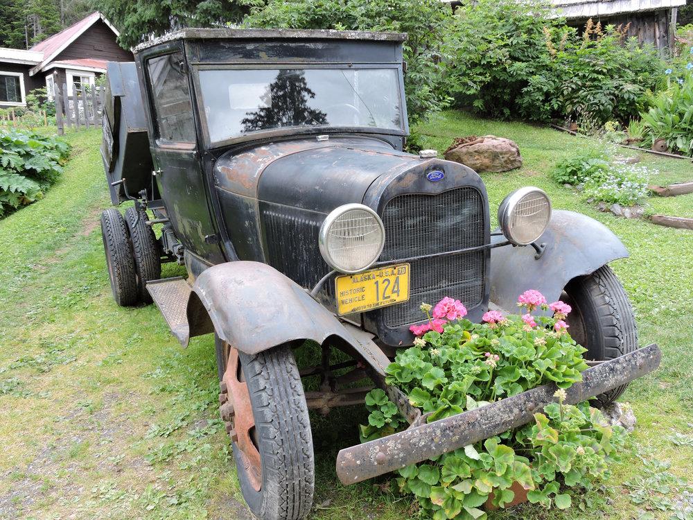 Historic Alaskan truck