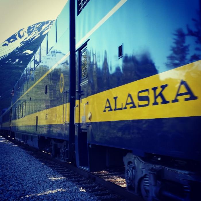 Bike tour with alaska railroad custom or private