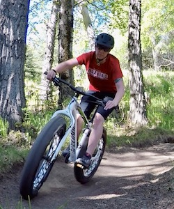 Ell owner guide fat tire biking on mountain bike trails