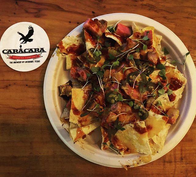 New Brisket Nachos! Care of @latableducheftexas.  #brewpub #brewery #nachos #brisket