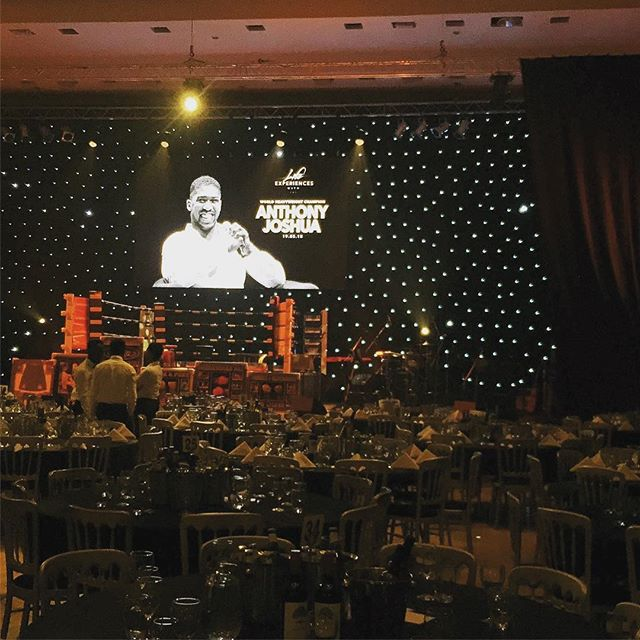 We had a great evening providing audio for the #lifeexperienceswith @anthony_joshua event at @lighthousepoole yesterday evening.