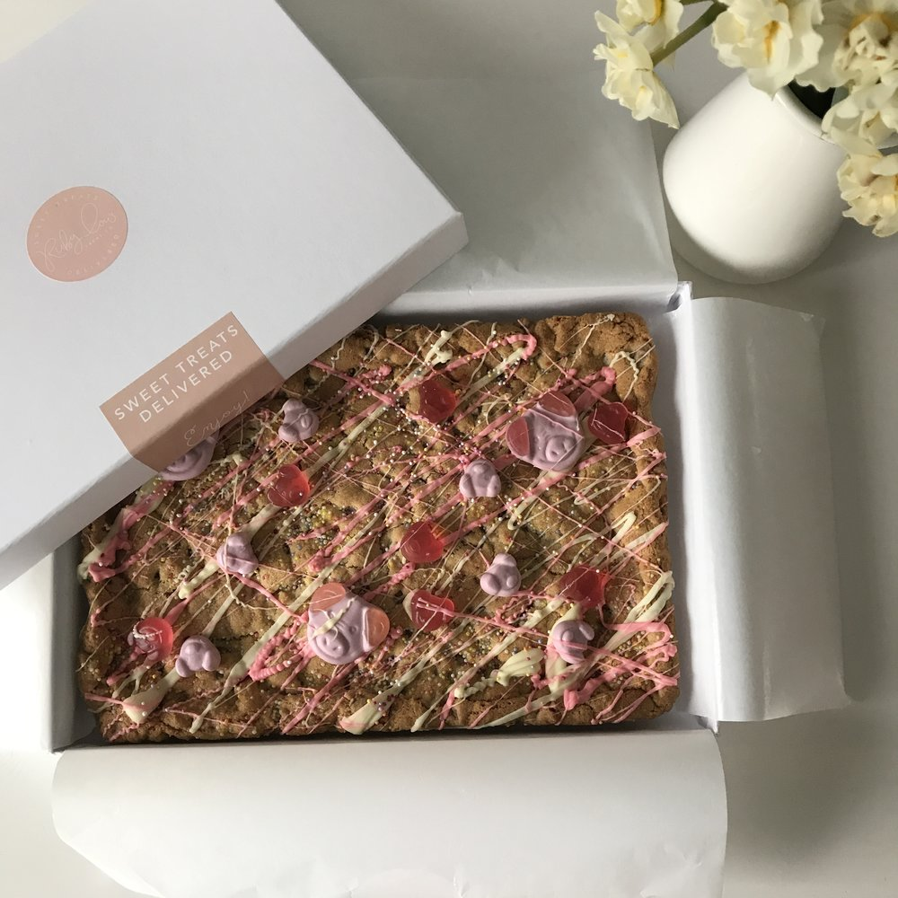 Cookie Slab celebration cake alternatives