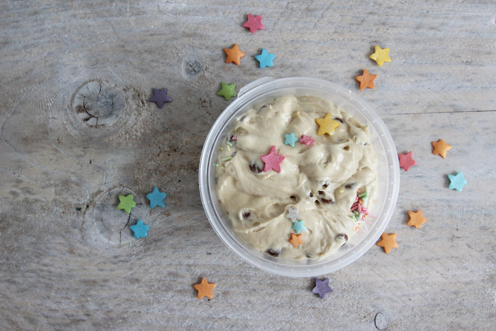 Unicorn dough cookie dough