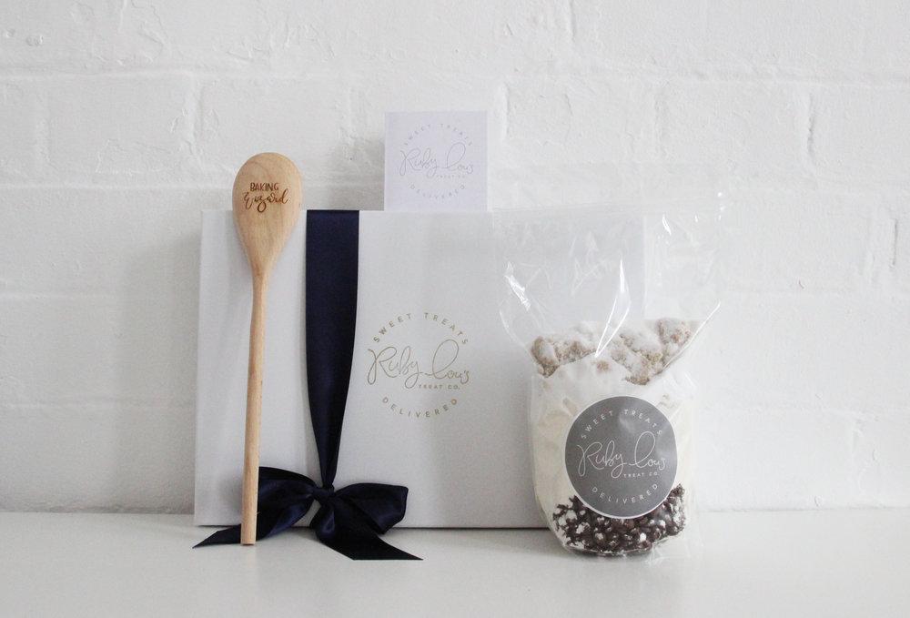 Cookie baking gift box