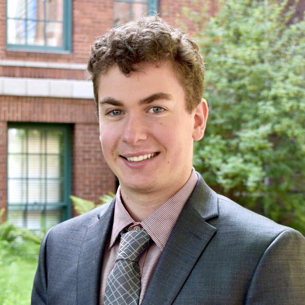 Ezra Rapaport, Consulting Associate  Major: Accounting  Minors: Economics, Classical Civilizations