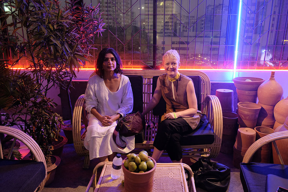 Monica Narula and Maria Balshaw. Safina Radio Project. Director, Anabelle de Gersigny. Commissioned by Alserkal Avenue