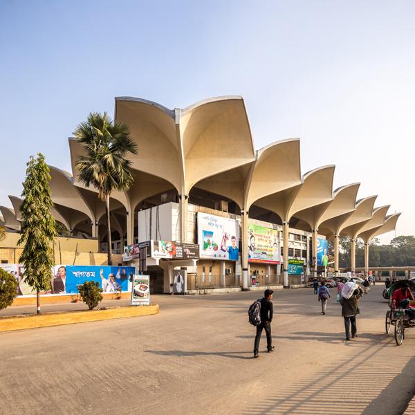 Robert Bougher, Kamalapur Railway Station, Dhaka. Image credit: Randhir Singh