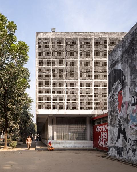 Muzahrul Islam, Dhaka University Library. Image credit: Randhir Singh