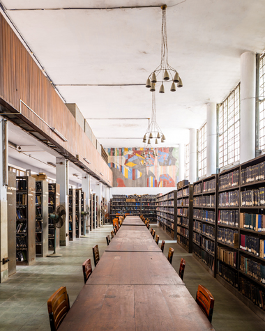 Muzharul Islam, Dhaka University Library. Image credit: Randhir Singh