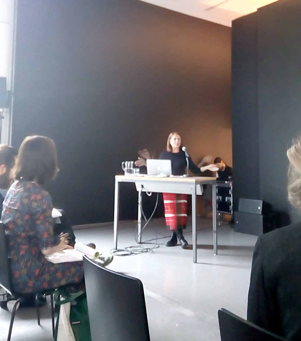 Belinder Dhanoa gives a talk on Baroda, at the symposium 'The Most Wanted', at Kunsthalle Zürich