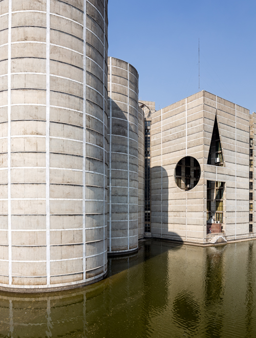 Louis Kahn, National Parliament Building, Dhaka. Image credit: Randhir Singh