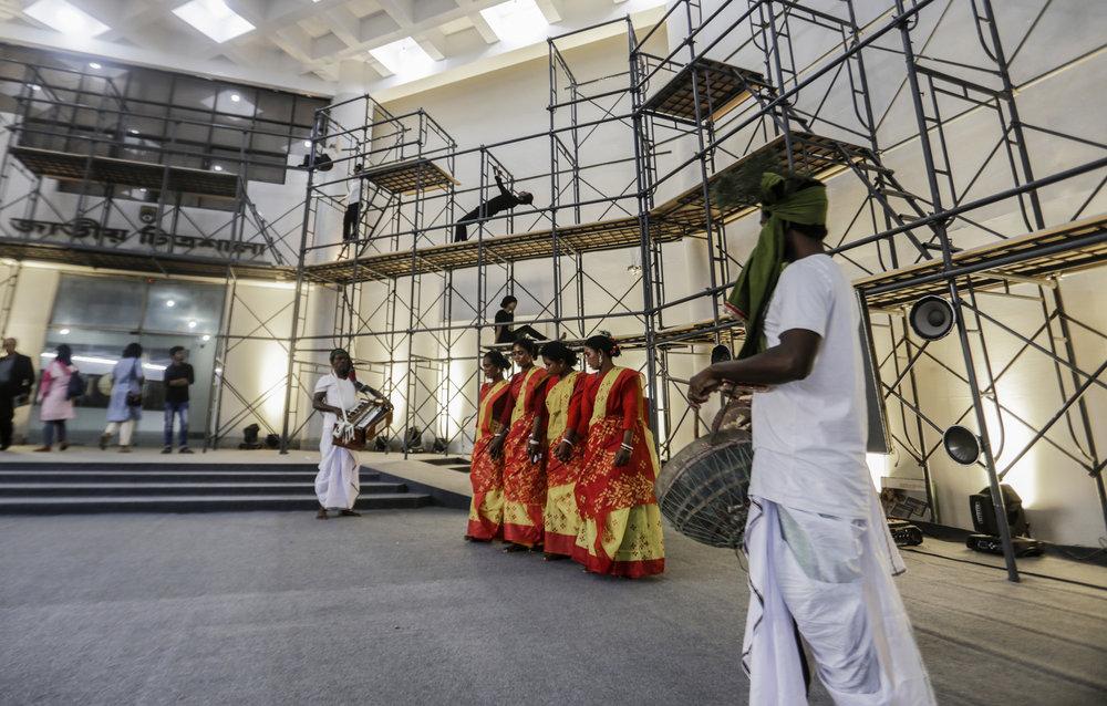 Yasmin Jahan Nupur with Santal Performers: Enej (Dance) (2018)